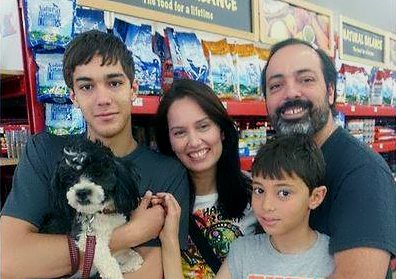 Luke's Adoption Photo with Family - 07-Jun-2014