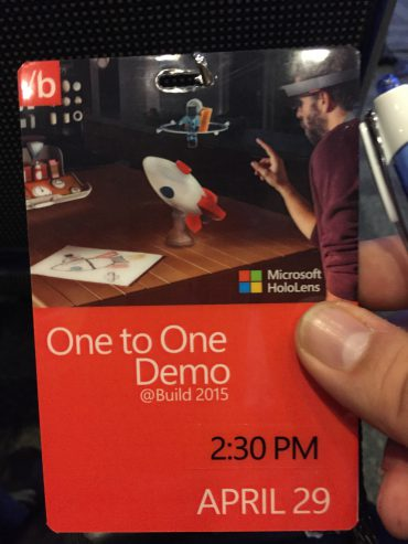 HoloLens Demo Badge